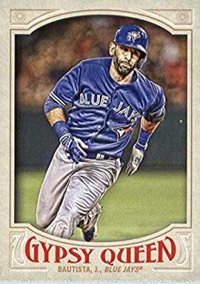 2016 Topps Gypsy Queen #12 Jose Bautista Toronto Blue Jays Baseball Card