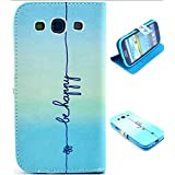 Samsung S3 Case,Samsung Galaxy s3 cases,Gotida S30530A008 Wallet Leather Carrying Case Cover With Credit ID Card...