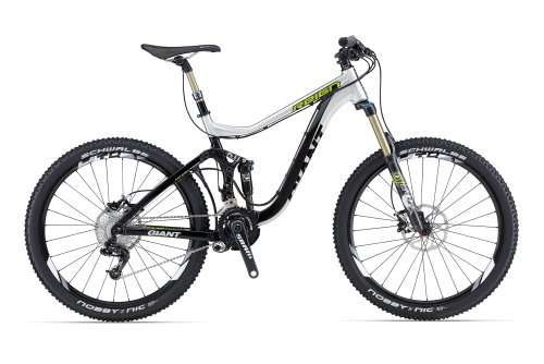 Giant MTB Reign 0 aluminium/black/light green (2013)