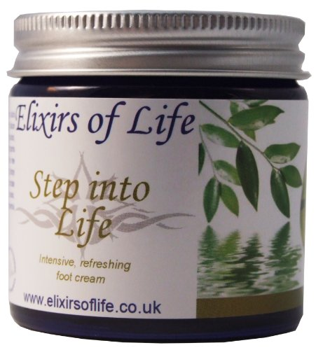Elixirs of Life - Step into Life 60ml (Natural foot cream)