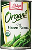 Libby's Organic Cut Green Beans, 14.5-Ounce Can (Pack of 12)