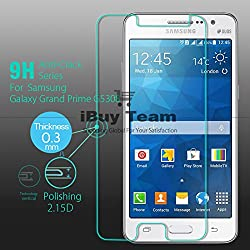 Phonokart Tempered Glass HD for Samsung Galaxy Grand Prime Amazing H+ 2.5 Arc 0.15mm 9H
