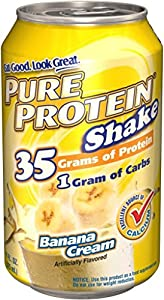 Pure Protein RTD Shake - Banana - 6 Cans