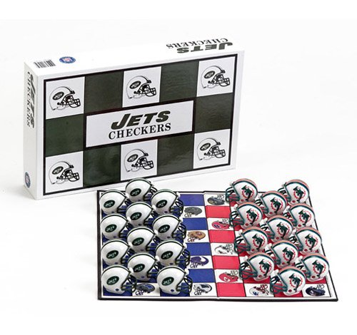 Big League Promotions New York Jets Versus Miami Dolphins Football Checkers at Amazon.com