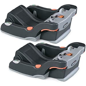 Chicco KeyFit & KeyFit 30 Infant Car Seat Base, 2 pack
