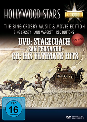 Hollywood Stars Western Collection (Stagecoach-San Fernando+Audio-CD) [2 DVDs]
