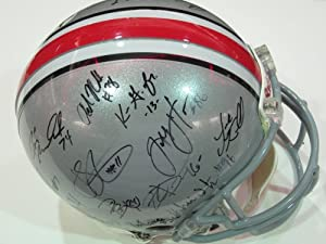 2012 Ohio State Buckeyes Team Signed Autographed Full Size Helmet Authentic Certified...