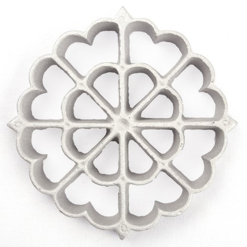 Kitchen Supply Rosette Iron, Geometric Spanish