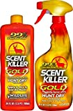 Scent Killer 1259 Wildlife Research Scent Killer Gold 24/24 Combo, 48 oz.