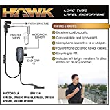 Hawk Lapel Mic for Motorola APX and XPR Radios Includes Earmolds