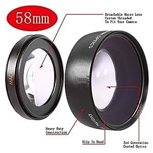 Powerpak Macro Lens 58mm Canon