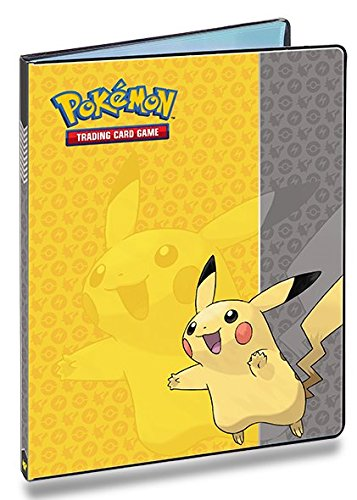ultra-pro-pokemon-card-binder-featuring-pikachu-9-pocket-album-portfolio-holds-90-180-cards