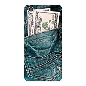 Full Dollar Jeans Back Case Cover for OnePlus X