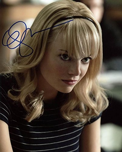 EMMA STONE Autographed Signed 8x10 inch Photo photograph MINT