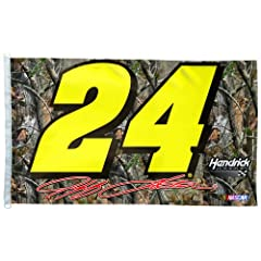 NASCAR Jeff Gordon 3-by-5 Foot Realtree Flag by WinCraft