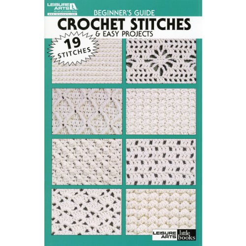 Leisure Arts-Beginners Guide Crochet Stitches front-835708