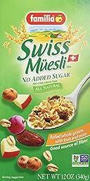 Familia Swiss Muesli - No Sugar, 12-Ounce