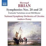 Symphonies Nos. 20 and 25