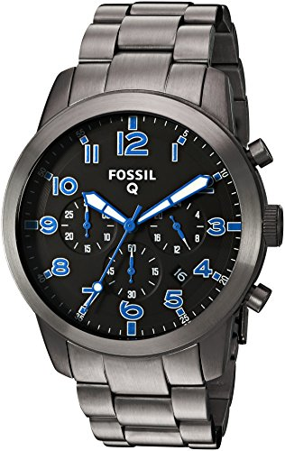 Fossil-Q-Pilot-Gunmetal-Stainless-Steel-Hybrid-Smartwatch
