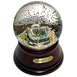 MLB Cleveland Indians Jacobs Field Cleveland Indians Musical Globe by Sports Collector