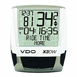VDO X3DW Wireless Bicycle Computer by VDO