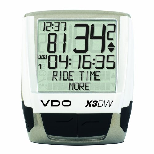 VDO X3DW Wireless Bicycle Computer