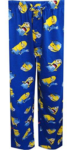 Despicable Me 2 Minion Blue Lounge Pants for men