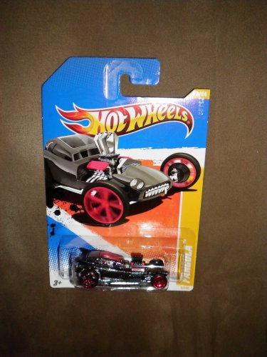 2011 HOT WHEELS 2010 NEW MODELS 8/240 BLACK FANGULA 8/44