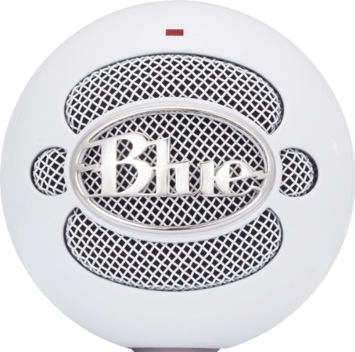 Blue Microphones Snowball Ice Condenser Microphone, Cardioid Portable Consumer Electronics Home Gadget
