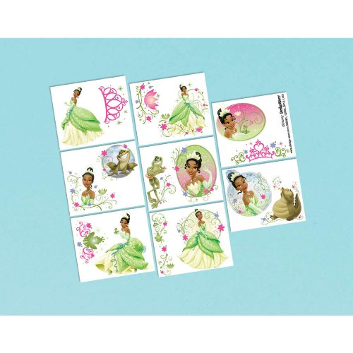 Disney Tiana Tattoo Favors