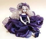 若月まり子ビスクドール お花の妖精 エルフィンフローリー:ヘリオトロープ