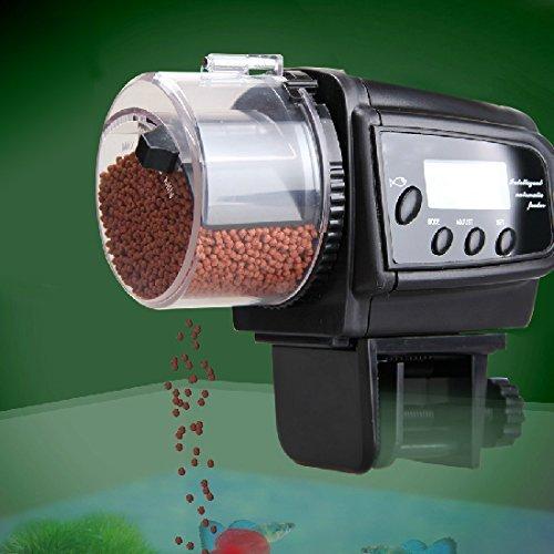 Gearmax® LCD Digitale Aquario automatico serbatoio Fish Food Feeder Timer