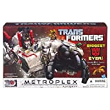 Metroplex with Autobot Scamper Fall of Cybertron Transformers Generations Titan Class Action Figure