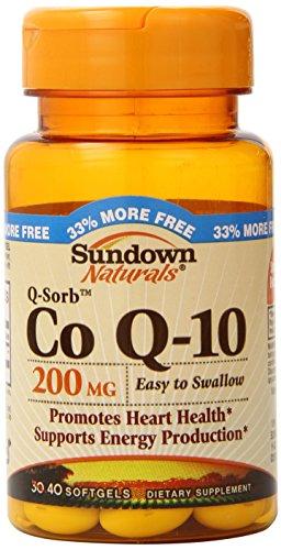 Sundown Naturals Co Q-10 200 mg, 40 Softgels (Co Q10 Sundown compare prices)