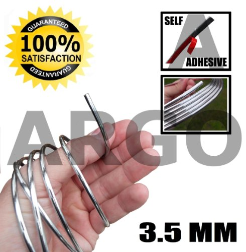 CHROME STYLING MOULDING STRIP TRIM ADHESIVE 3.5MM BMW 3 SERIES ESTATE
