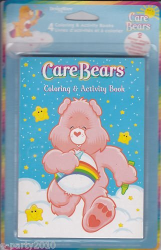 Care Bears Rainbow Coloring and Activity Books / Favors (4ct)