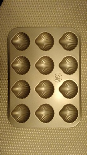 Make Way for Madeleines 12 Cup Scallop Shaped Non-stick Madeleine Pan