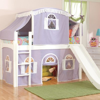 Low Bunk Beds For Kids 2096 front