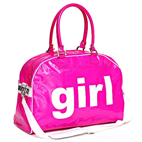 Amazon.com : Trumpette Baby Fuchsia Large Girl Schleppbag Poly Vinyl