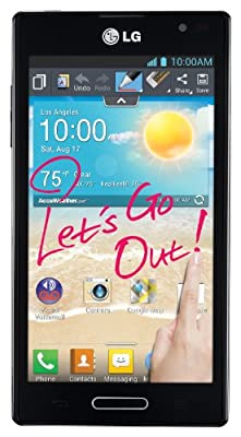LG Optimus L9 4G Metro PCS Unlocked, Android, 4.5