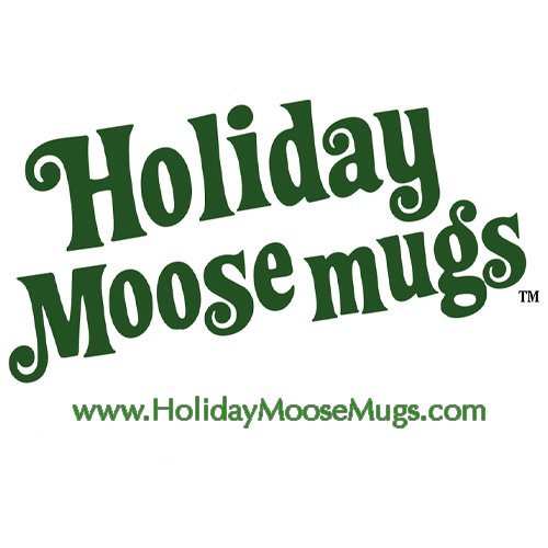Holiday Moosemugs - Inspired by Christmas Vacation Moose Mugs (Set of 2)