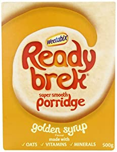 Ready Brek Golden Syrup 500 g (Pack of 6)