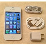 Apple iPhone 4 4G 32GB Quad-band World GSM Phone (Factory Unlocked)- WHITE