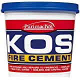 Everbuild KOSBLK2K KOS Fire Cement 2Kg - Black