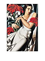 Artopweb Panel Decorativo De Lempicka Portrait De Ira 90x60 cm Multicolor