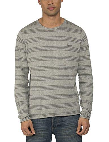 Bench ADOUR-Felpa Uomo    Grau (Grey Marl GY001X) Large