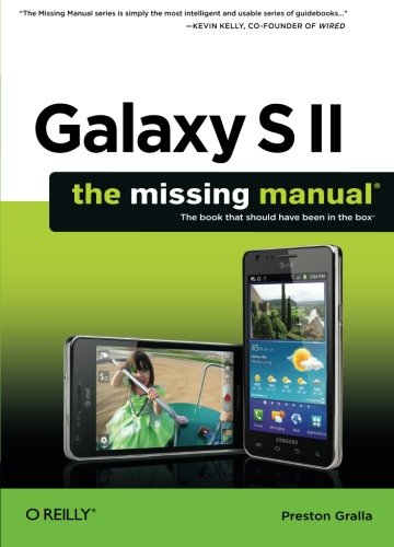 Galaxy S Ii: The Missing Manual (Missing Manuals) front-528561