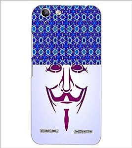 PrintDhaba Vendetta D-3747 Back Case Cover for LENOVO LEMON 3 (Multi-Coloured)