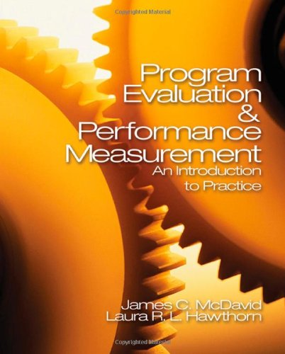 Program Evaluation and Performance Measurement: An...