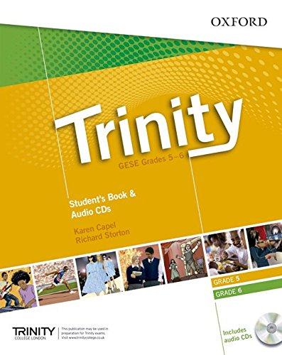 Trinity Graded Examinations in Spoken English (GESE): Trinity Graded Exams: Student's Book Grades 5-6 CD Pack